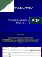 Letra de Cambio Corregida 23.10.08