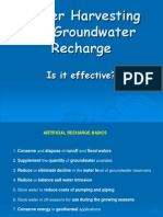 Groundwater Recharge
