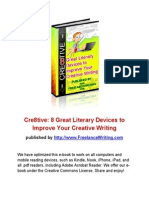 Creative Writing eBook