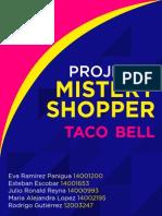 Análisis Taco Bell Mystery Shopper