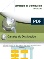 Distribución. Marketing Mix