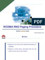 C04 WCDMA RNO Paging Procedure