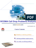 C09 WCDMA RNO Call Drop Problem Analysis