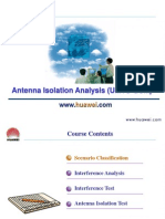 C18 WCDMA RNP Antenna Isolation Analysis (UMTS-GSM)