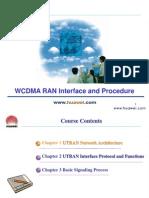 C19 WCDMA RAN Interface and Procedure