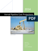 vernal pipeline cost projections