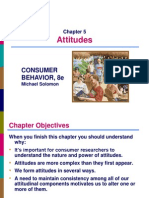 Chapter 5 - Attitude and Attitude Change