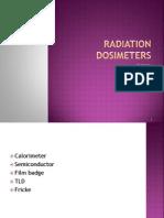 Radiation Dosimeters