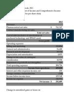 Quantatative Analysis of QCOR