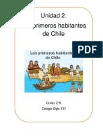 Unidad 2 Historia Primeros habitantes de Chile