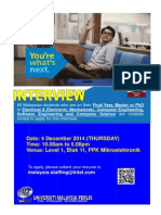 Intel Interview 2014