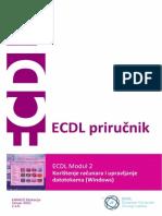 ECDL Modul 2 - Koristenje Racunara