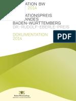 2014 - Dokumentation des Innovationspreises des Landes Baden-Württemberg 2014