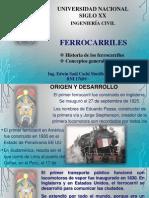 Tema Nro 1 Generalidades e Historia de Los Ferrocarriles