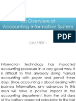 Chapter 1- An Overview of Accounting Information System