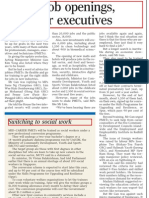 4,500 Jobs Available in Social Service and Childcare Sector, 24 Mar 2009, Straits Times