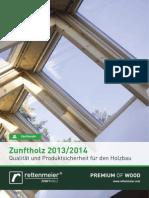 Zunftholzprogramm 2013 De