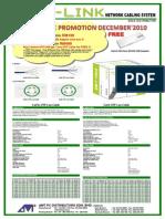 AMT-Gigalink UTP Cable Price List_Promo - December 2010
