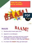 BAAM transportation