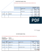 Record Keeping Template