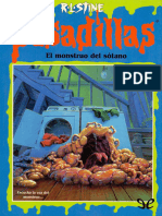 El Monstruo Del Sotano - R. L. Stine - 12433 - Spa