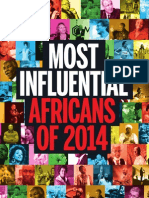 New African list of Most Influential Africans of 2014