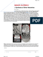 Ag Nanowire Synthesis