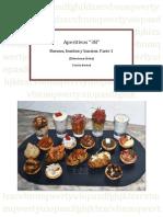 Aperitivos 3b (buenos,bonitos y baratos) - Tartaletas, Vasitos y Patatas Hasselback