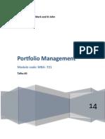 Port-folio management