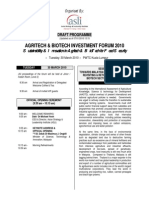 Agritech & Biotech Program (070110)