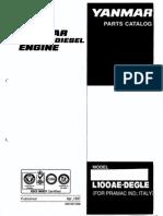 Yanmar L100 Parts Catalog