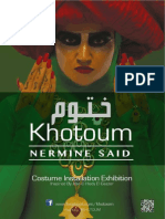 Khotoum Exhibition 2014. Brochure ( Eng copy)
