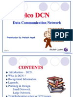 Telecommunication Network DCN network