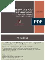 Tratamento de Não-Conformidades - Andréa Fernanda Origa