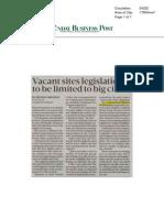 Sunday Business Post 30 11 2014