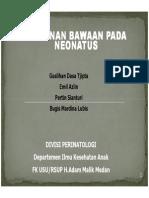 Slide Kelainan Bawaan Pada Neonatus