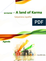 India – a Land of Karma