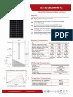 Aide Solar Catalog AD180/185/190M5
