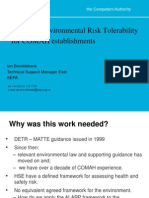 1600 - Brocklebank - CDOIF Environmental Risk Tolerability for COMAH Establishments