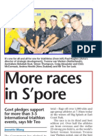 More Races in S'Pore, 22 Mar 2009, Sunday Times