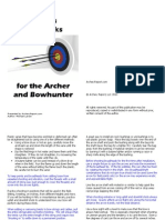 50 Tips and Tricks for the Archer and Bowhunter