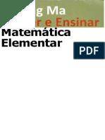 Aprender e Ensinar Matematica Elementar - Liping Ma