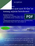 Surat Yunus, Al-Kahfi, Al-Kafirun