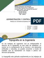 Presentacion Adm y Control de Obras
