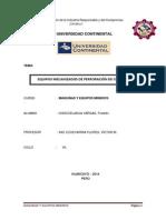 EQUIPOS MECANIZADOS DE PERFORACIÓN DE CHIMENEAS