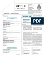 Resolución 85/2014 de la Secretaría de Comunicaciones