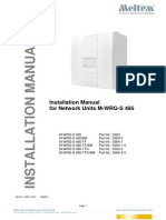 Installation Manual M-WRG-S-485 23-06-2011