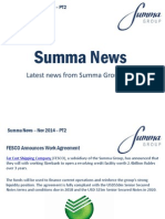 Summa Group News November 2014 (Part two)