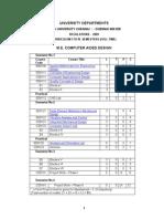 Ana University M.E. CAD