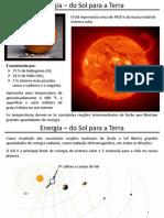 Energia - Do Sol Para a Terra